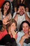 förskräckt teater för folk Fotografering för Bildbyråer