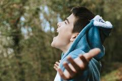 Förställt barn Fotografering för Bildbyråer