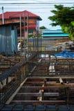 Förstärkning för stålstång Fotografering för Bildbyråer