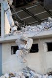 förstörd byggnad Royaltyfri Bild
