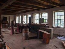 Förstörd fabrik Royaltyfri Foto