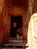 Förstörd tempel royaltyfria foton