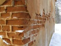 förstörd vägg Royaltyfri Fotografi