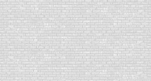 Förstörd vägg för vit tegelsten Kan användas som en vykort royaltyfri foto