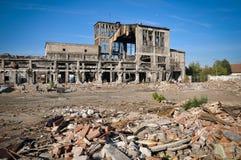 Förstörda byggnader Royaltyfria Foton