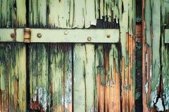 förstörda träslutare royaltyfria foton