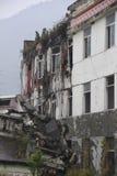 Förstörelse av byggnad Royaltyfri Fotografi