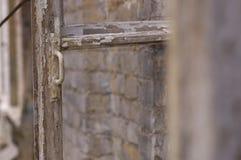 Förstört fönster Royaltyfria Foton