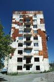 Förstört kvarter Royaltyfria Foton