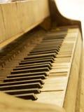 Förstört piano Royaltyfria Foton