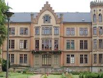 Förstört slott Royaltyfri Foto