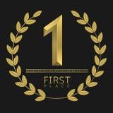 Först ställesymbol Fotografering för Bildbyråer