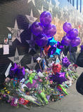 Första aveny för prins Memorial förutom, Minneapolis Arkivfoto