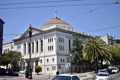 Första Baptist Church San Francisco royaltyfri foto