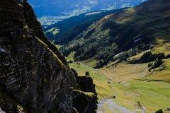 Första berg, Schweiz Fotografering för Bildbyråer