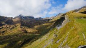 Första berg Schweiz Fotografering för Bildbyråer