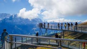Första berg Schweiz Royaltyfri Fotografi