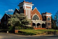 Första Christian Church Royaltyfri Fotografi