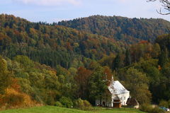 Första dagar av hösten Arkivbilder