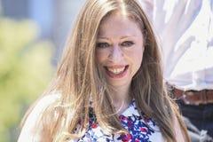 Första dotter, Chelsea Fotografering för Bildbyråer
