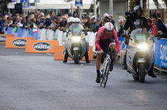Första etapp av det Tirreno Adriatica loppet Fotografering för Bildbyråer