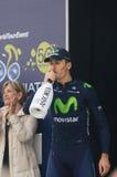 Första etapp av det Tirreno Adriatica loppet Royaltyfria Foton