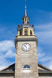 Första församlingkyrka i Portland, Maine, USA Byggt i 1825 för Arkivbilder