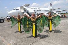 Första flyg Royaltyfri Foto
