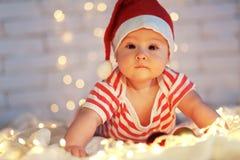 Första jul royaltyfri foto