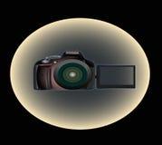 Första kamerafotograf Arkivfoton