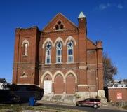 Första kongregationalistiska kyrka arkivbild