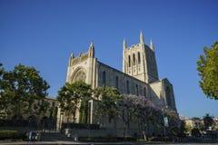 Första kongregationalistiska kyrka av Los Angeles royaltyfri fotografi