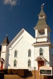 Första kongregationalistiska kyrka, Hebron Royaltyfria Foton