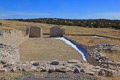 Första kyrka på Humanas royaltyfri fotografi