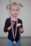 första medalj royaltyfri bild