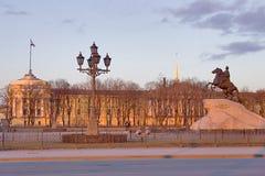 första monument peter Arkivbilder