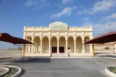 Första museum för olje- brunn i Bahrain Arkivbild