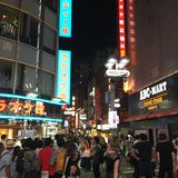 Första natt i shibuya royaltyfri fotografi