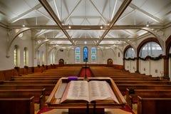 Första presbyterianska kyrkan av Raleigh Royaltyfria Bilder