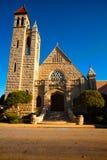 Första presbyterianska kyrkan i Fort Smith, Arkansas Royaltyfria Bilder