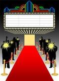 första red för matteps-stort festtält Fotografering för Bildbyråer