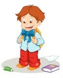 första skola för dag stock illustrationer