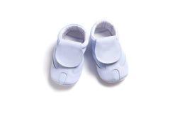 första skor för babys Arkivfoton