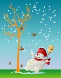 första snow stock illustrationer
