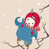 första snowflake Royaltyfria Bilder