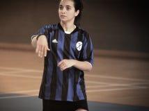Första turkiska medborgareKorfball mästerskap Royaltyfri Fotografi