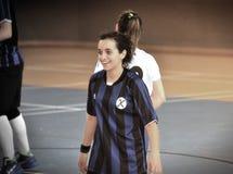 Första turkiska medborgareKorfball mästerskap Fotografering för Bildbyråer