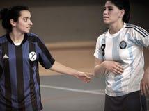 Första turkiska medborgareKorfball mästerskap Royaltyfria Foton
