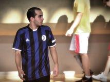 Första turkiska medborgareKorfball mästerskap Arkivfoton