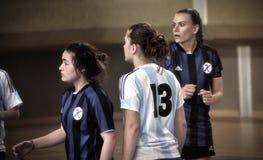Första turkiska medborgareKorfball mästerskap Royaltyfria Bilder